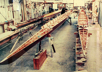 Sykes History - Timber Rowing Boats