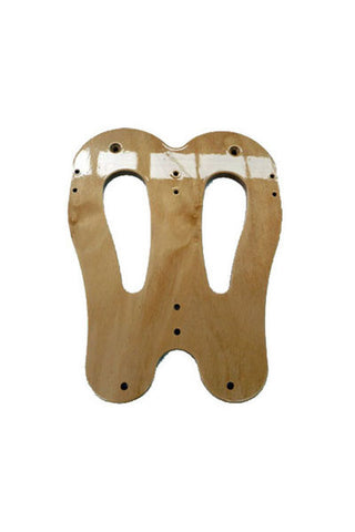 Flat stretcher board scull