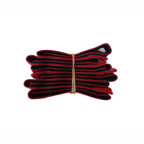 Red Replacement Velcro for Newwave Shoes Set of 6 =  1 pr Shoes