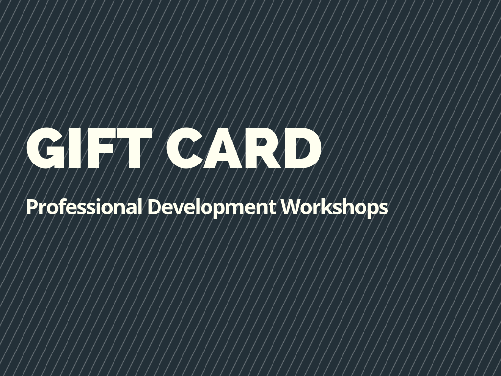 Gift Card: Give the Gift of Professional Development