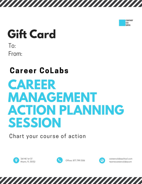 Career Counseling and Coaching Gift Certificate