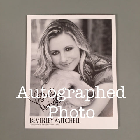 Autograph Photo from Beverley Mitchell