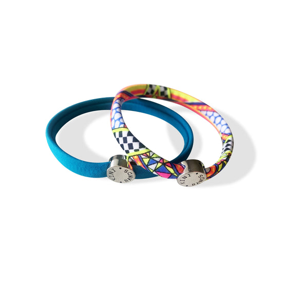 * Kini Bands Hair Tie - Sets of Two (10 Count Color Pack)