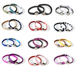 Kini Bands Hair Tie Sets of Two (Variety Pack)