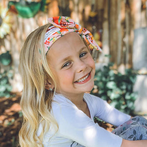 Lil' Girls Tie-Up Head Band (Variety Pack)