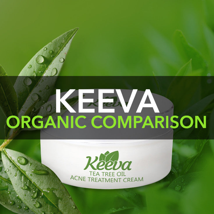 Comparison Keeva Organic Products