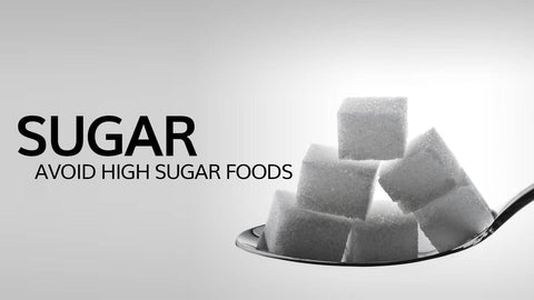 avoid high sugar foods if have acne