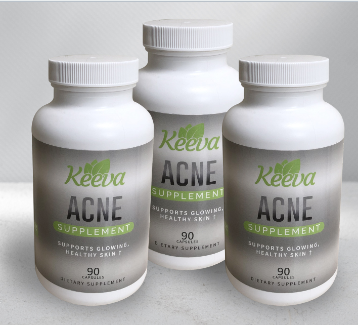 Keeva´s Acne Supplement Supports Healthy Skin From The Inside Out