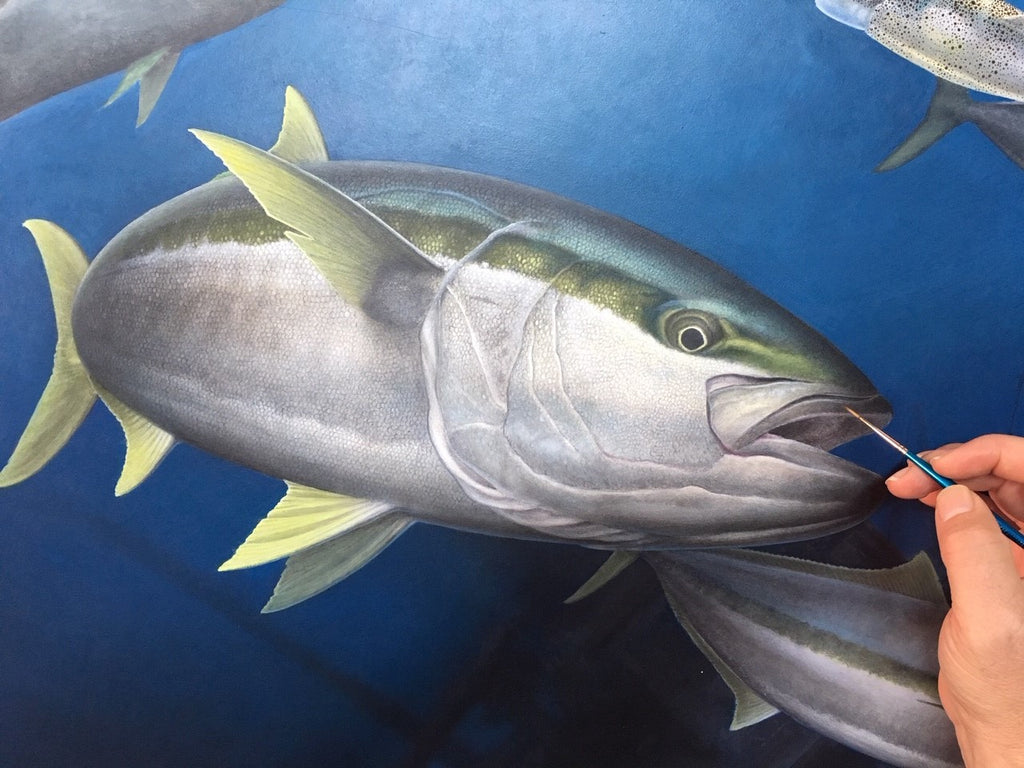 New Yellowtail Painting