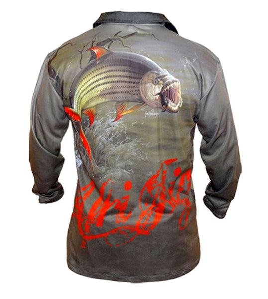 AfriJig Golf Long Sleeve Shirt