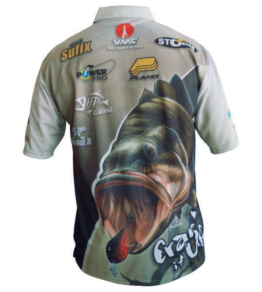 pro fishing bass shirt