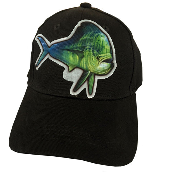 Black cap with dorado artwork