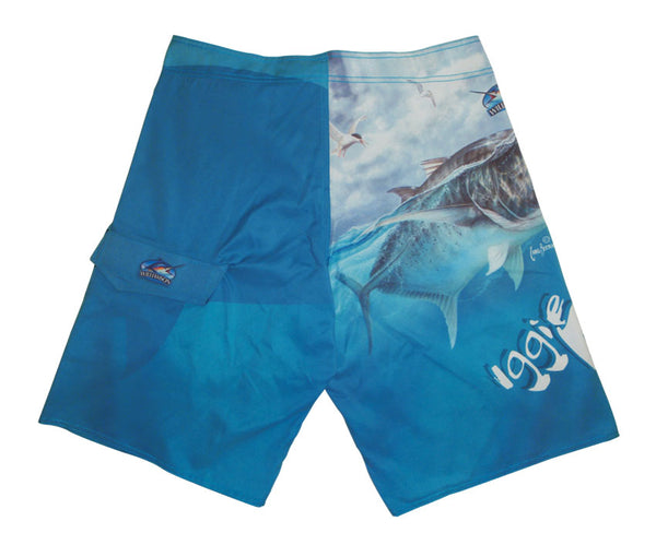 Iggy Pop Blue - Board Shorts