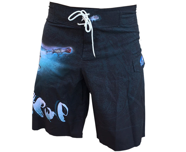 black board shorts with a GT it