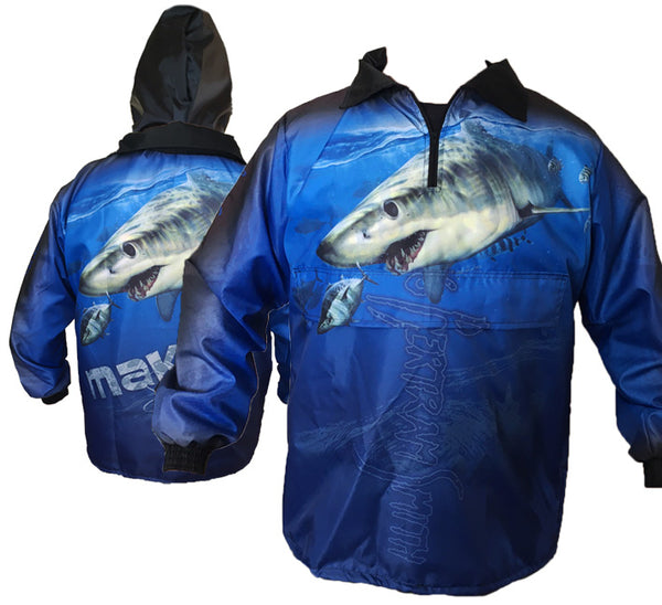 Mako Rain Jackets (Blue)