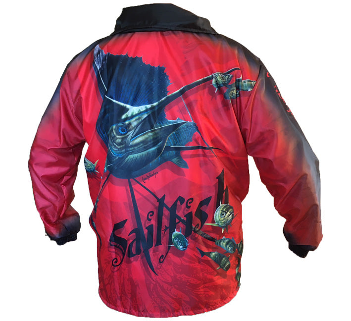Sailfish Red Rain Jackets