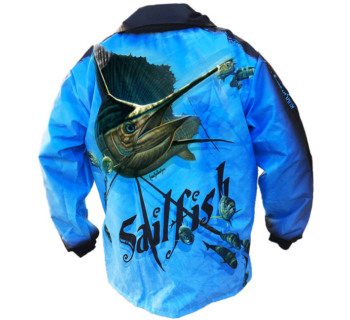 Sailfish Rain Jackets - Light Blue