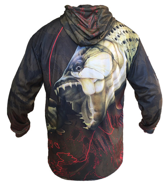 Tigerfish Hooded Long Sleeve Shirt