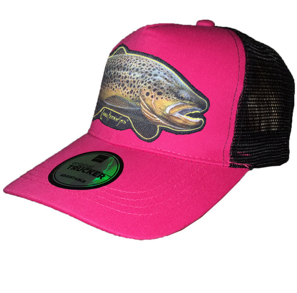 Brown Trout Cap - Trucker