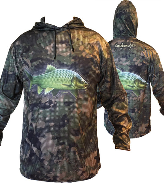 Smallmouth Yellow Camo Hoodie