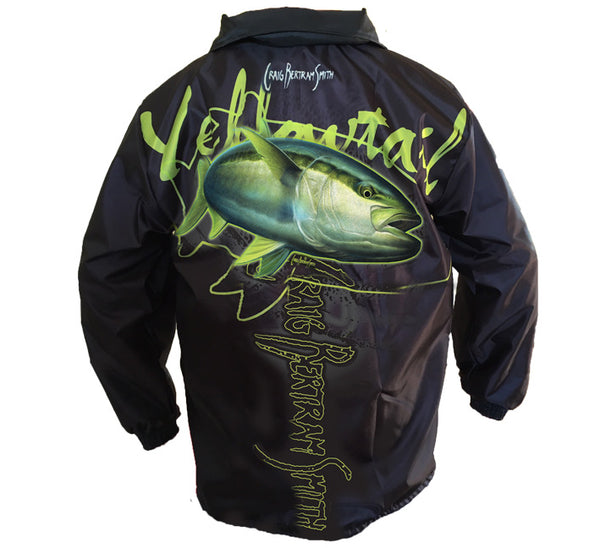 Yellowtail Rain Jacket (Black)