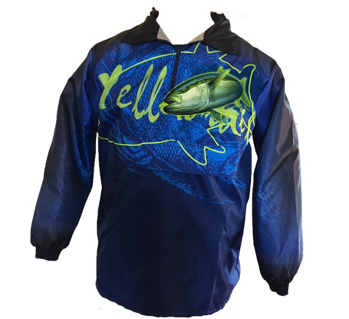 Yellowtail Rain Jacket (Blue)