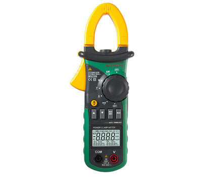 DHL Free shipping Mastech MS2208 Harmonic Power Clamp Meter Tester Multimeter Trms Voltage Current Power Phase Angle Test