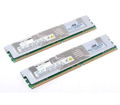 413015-B21 398709-071 16GB (2X8GB) PC2-5300F DDR2 FB-DIMM 667MHz Server Memory Ram Kit, for DL360G5 DL380G5 ML370G5