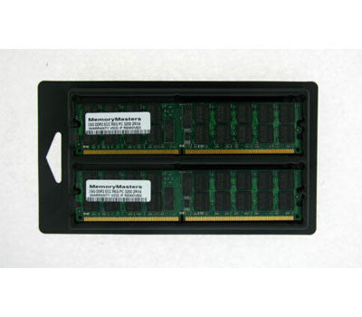 375004-B21 345114-051 4GB(2x2GB) PC2-3200 DDR2 ECC REG400 server ram memory kit, for DL360G4 DL380G4