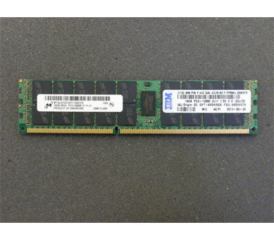 00D4968 47J0183 16GB Dual-Rank x 4 1.5V PC3-12800 CL11 ECC DDR3 1600MHz LP RDIMM, for X3200M4 X3500M4 X3550M4 X3650M4