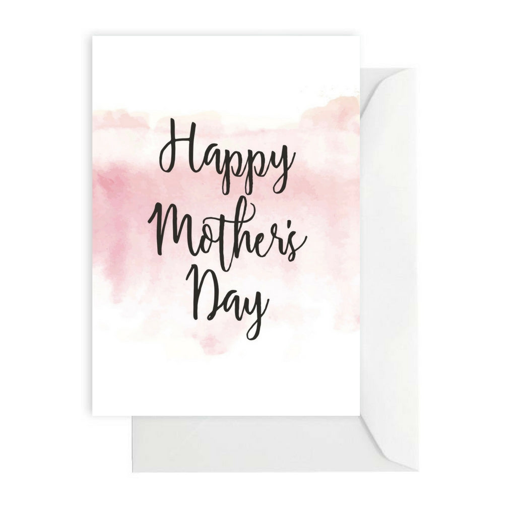 Mother's Day White/Pink Watercolour
