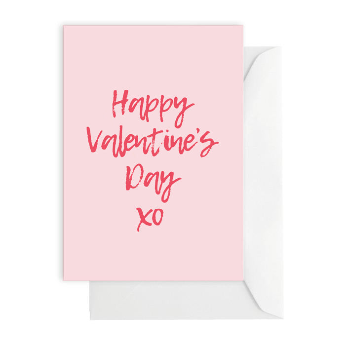 Happy Valentine's XO PInk