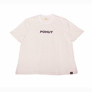 Pohuy Font White Tee (Oversized)
