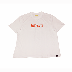 Pohuy LogO White Tee Russian (Oversized)