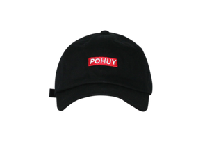 Pohuy Small Box Logo Dad Hat