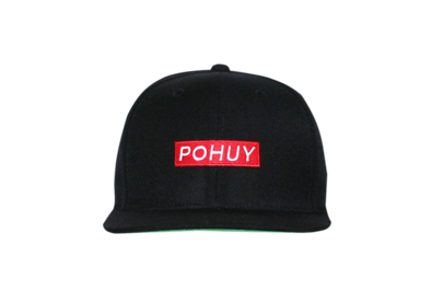 Pohuy Small Box Logo Snapback