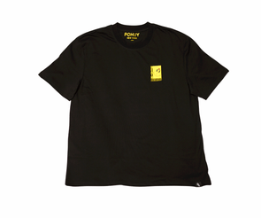 Pohuy Death Awaits Smiley Black Tee (Oversized)