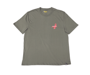 Pohuy Death Awaits Scorpion Grey Tee (Oversized)