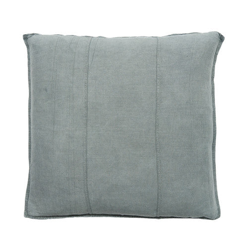 LUCA Cushion Silver Grey