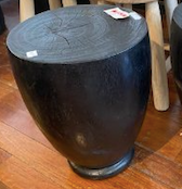 Black Egg Cup Stool