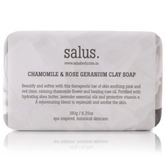 Salus Chamomile and rose geranium Soap