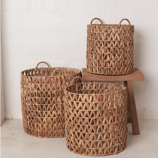 Ellya Natural Water Hyacinth Basket