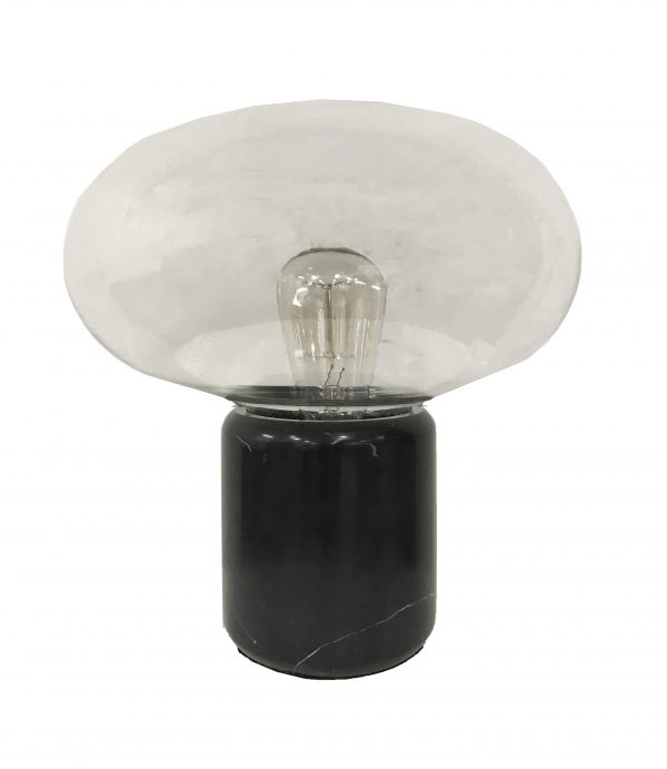 Emilie Lamp Black Marble