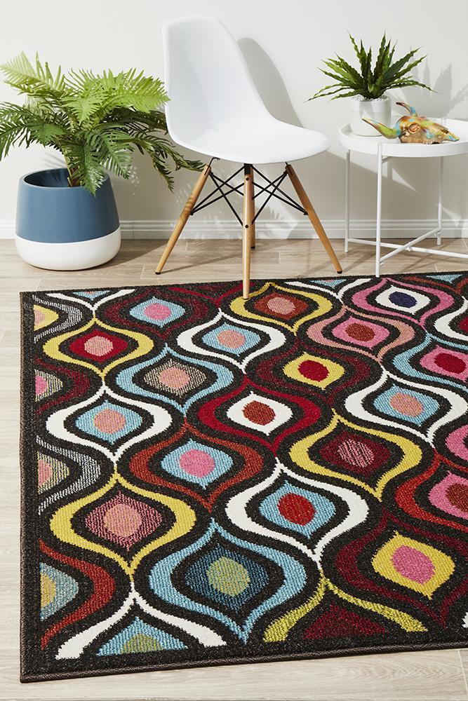 Gemini Modern 506 Multi Coloured Rug