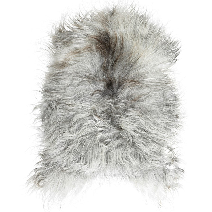 LUXE LOVER Icelandic SHEEPSKIN Natural Grey