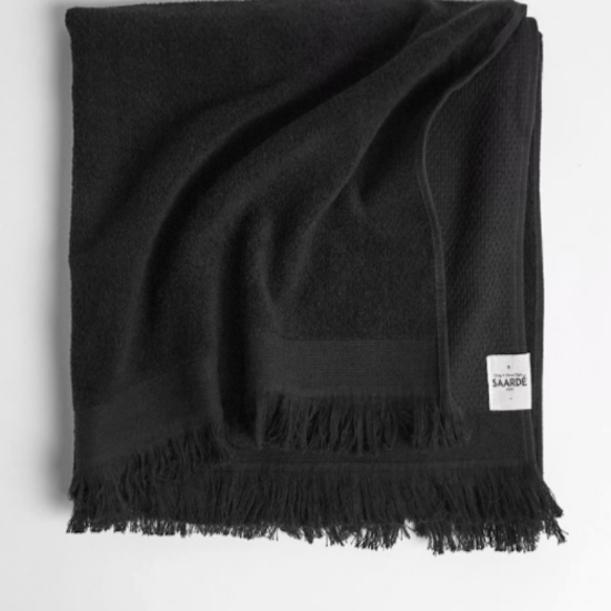 Honeycomb Black Towel