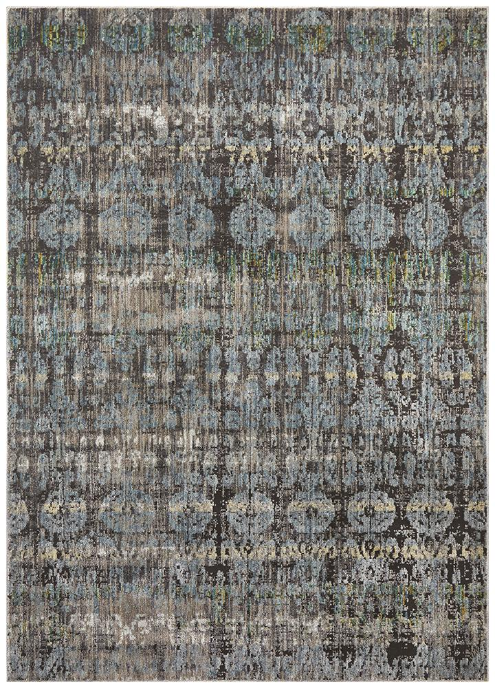 Jezebel Fluid Nights Modern Blue Rug