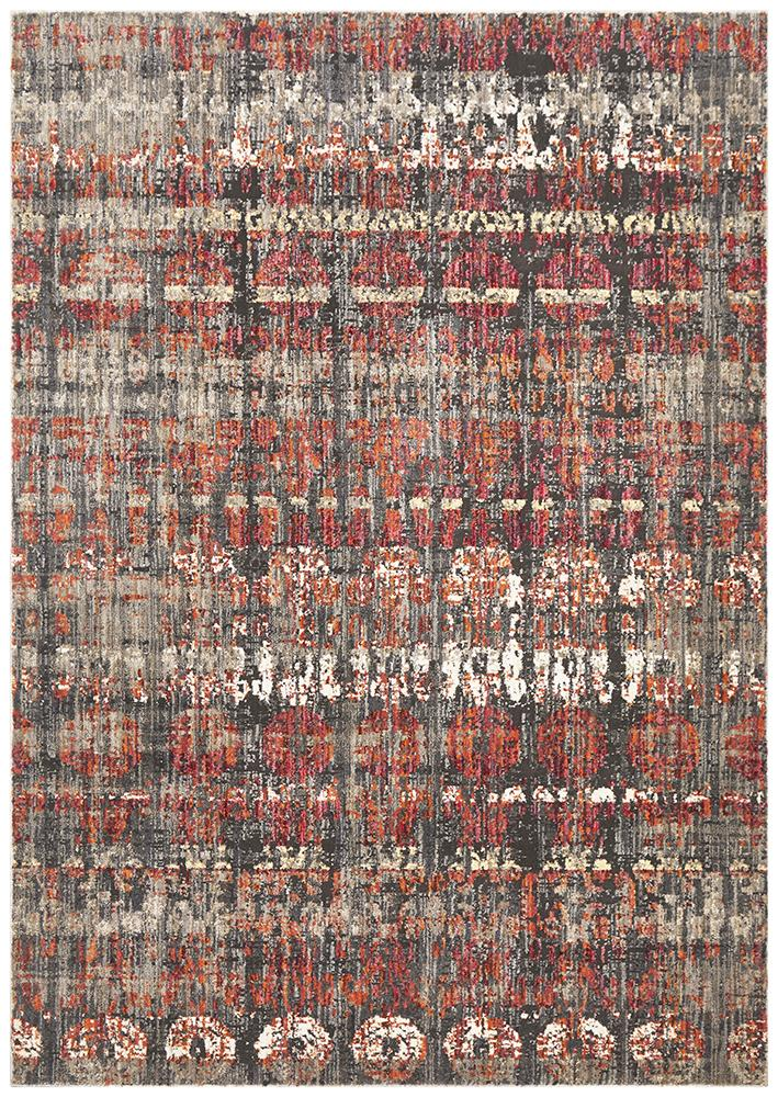 Jezebel Fluid Eve Modern Rust Rug