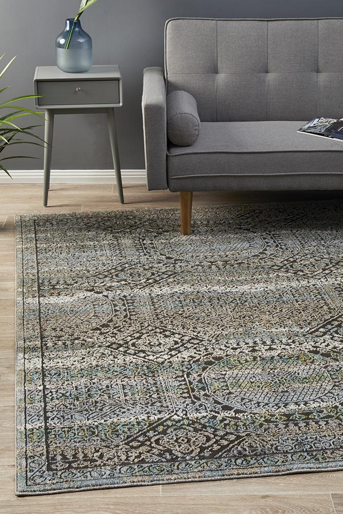 Jezebel Fluid Morrow Modern Blue Rug