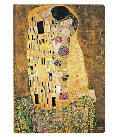 Klimt The Kiss Lined Midi Notebook Paperblanks